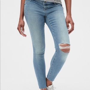 NWT Gap Maternity True Skinny Jeans